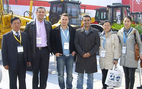2014 BAUMA exhibition @ SHANGHAI China