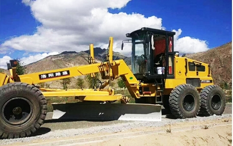LUTONG Motor Grader Work In Xizang China